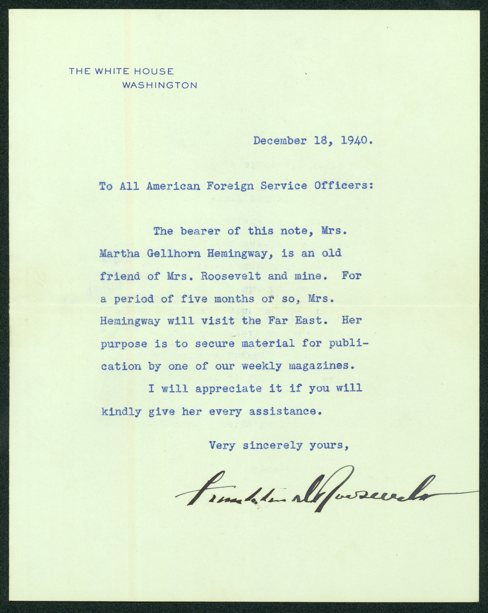 martha-gellhorn-letter-from-fdr