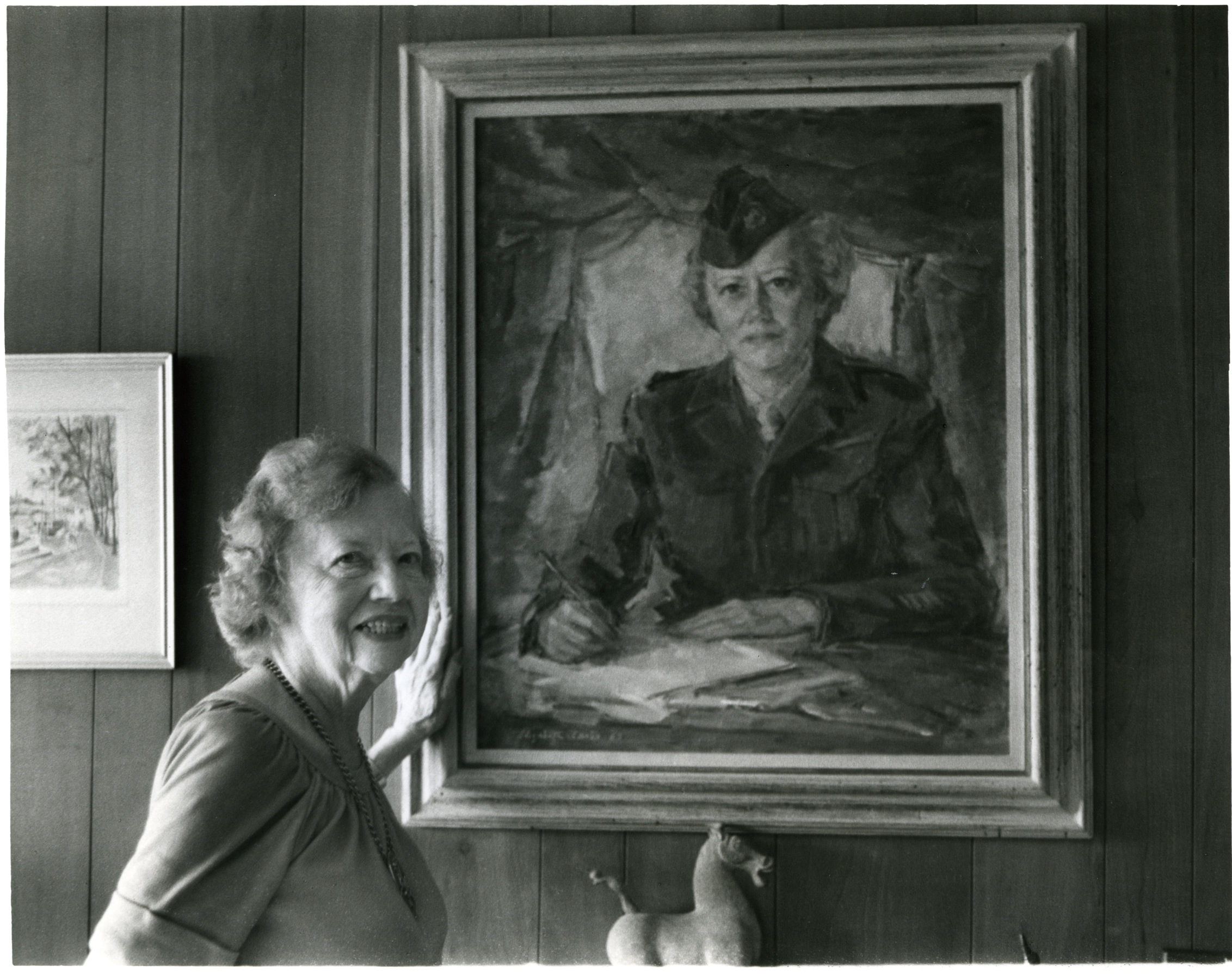 ruth-cowan-and-her-wwii-portrait